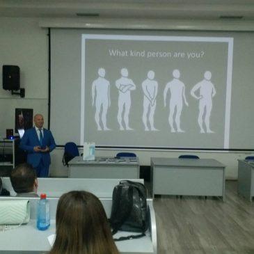 """31 Mај, Универзитет Св. Апостол Павле, Охрид – Oбука """"Говорот на Телото"""""""