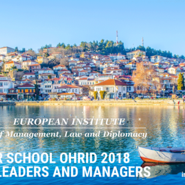 21 Јуни, Охрид – Летно Школо за Млади Лидери и Менаџери на англиски јазик