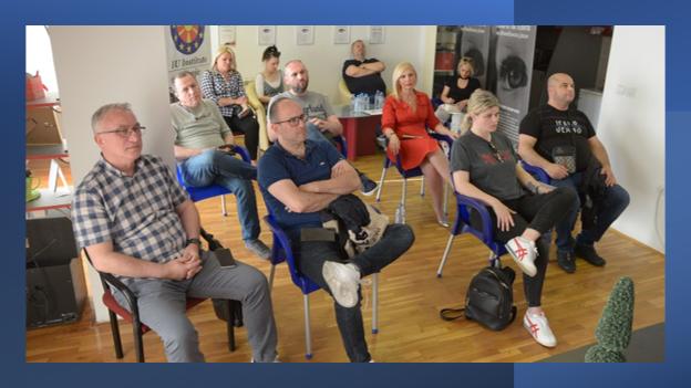 Се одржа втората обука за принципи на машка и женска деловност на естрадните уметници