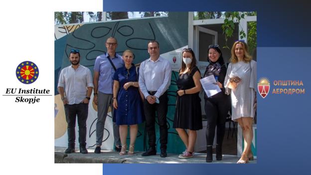 ЕУ ИНСТИТУТ Скопје како дел ХАБ мрежа на невладини организации кои ќе делуваат на територија на Општина Аеродром