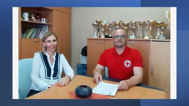 Волонтерите на Црвен крст на Република Северна Македонија ќе учествуваат во проектот Самодоверба, комуникација, мотивација кој се реализира на територија на Општина Аеродром