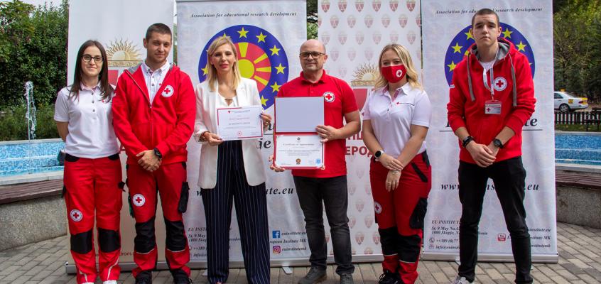 Црвен крст на Република Северна Македонија- Општинска организација Кисела Вода ги зајакнаа капацитетите со меки вештини
